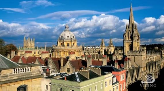 Overlooking Oxford