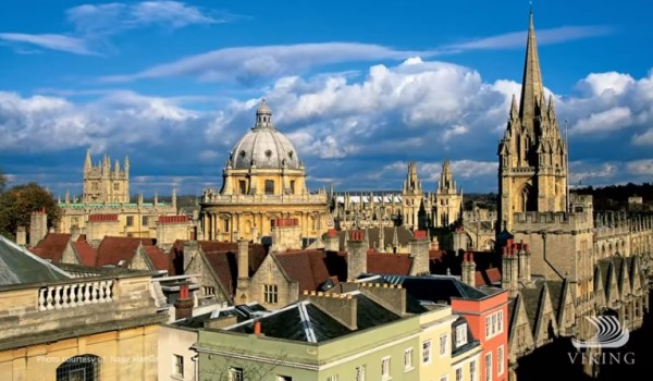 Overlooking Oxford