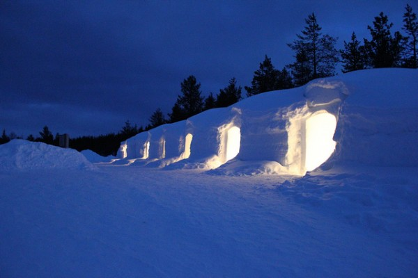 Snow Igloo (The picture is not related to the story).
