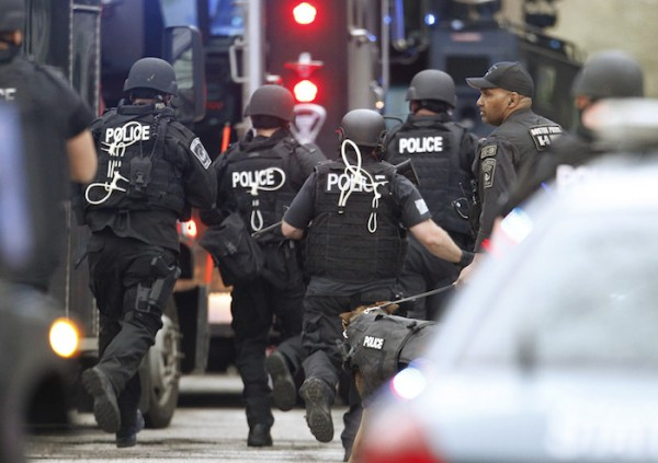 Boston Marathon Bombings Police Response