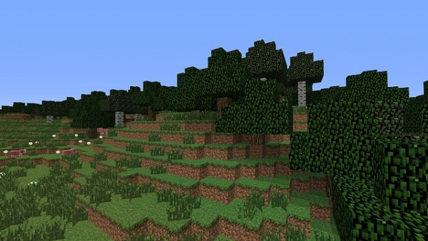 "An image from ""Minecraft,"" of Microsoft that is about to get an Education Edition."