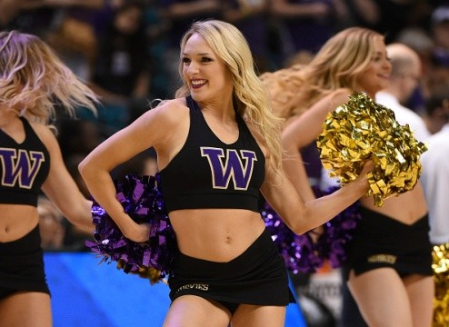 Image result for university of washington cheerleaders